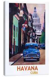 Canvas print  Havana Club - M. Bleichner