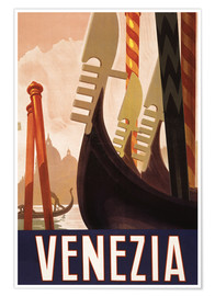 Premium poster  Venezia - Travel Collection