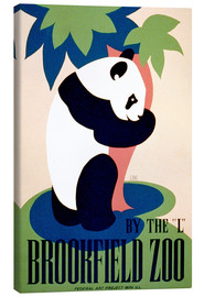 Canvas print  Brookfield Zoo - Advertising Collection