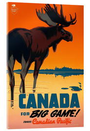 Acrylic print  Canada travel for big game - Travel Collection