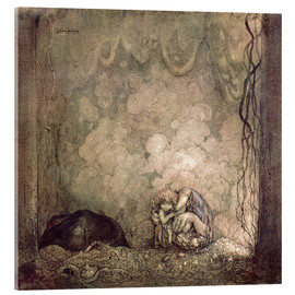 Acrylic print  A Mother's love - John Bauer