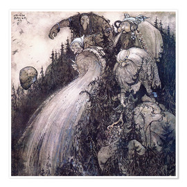 Premium poster  Troll of the forest - John Bauer