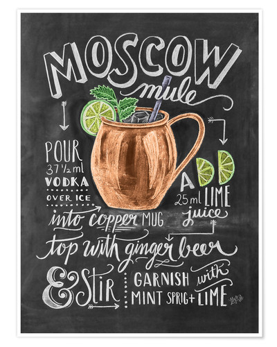 Premium poster Moscow Mule