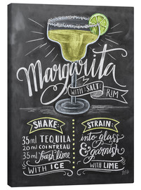 Canvas print  Margarita recipe - Lily & Val