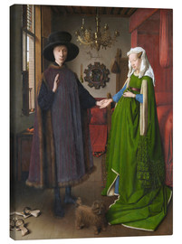 Canvas print  Arnolfini Wedding - Jan van Eyck