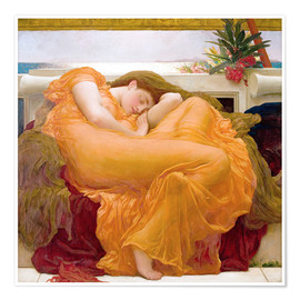 Premium poster  Flaming June - Frederic Leighton