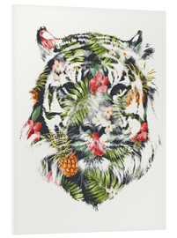 Foam board print  Tropical Tiger - Robert Farkas