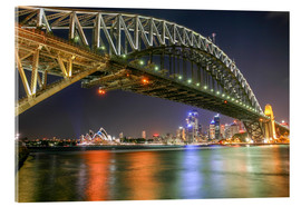 Acrylic print  Sydney Harbour Bridge I - Thomas Hagenau