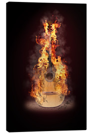 Canvas print  Guitar - Fotoatelier Berlin