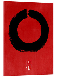 Acrylic print  Enso in Japan - THE USUAL DESIGNERS