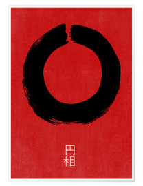 Premium poster  Enso in Japan - THE USUAL DESIGNERS