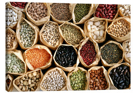 Canvas print  Assorted pulses