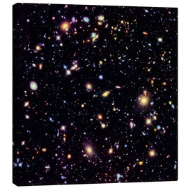 Canvas print  Hubble Extreme Deep Field - NASA