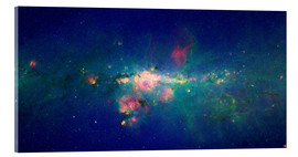 Acrylic print  Milky Way (infrared image) - NASA