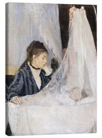 Canvas print  The cradle - Berthe Morisot