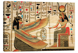 Canvas print  Papyrus with Egyptian characters