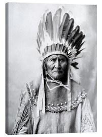Canvas print  Native American chief