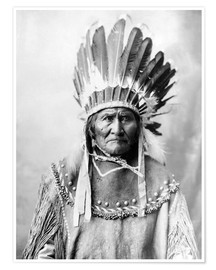 Premium poster  Native American chief