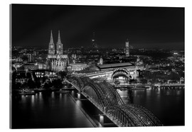 Acrylic print  Cologne black and white - rclassen
