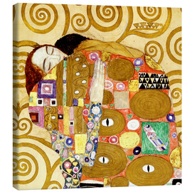 Canvas print  The hug - Gustav Klimt
