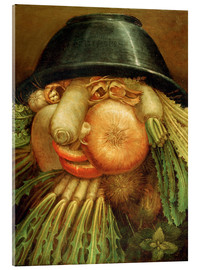 Acrylic print  The Vegetable Gardener - Giuseppe Arcimboldo