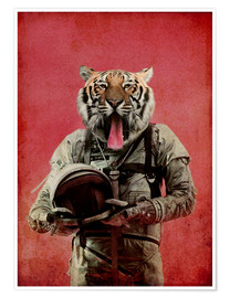 Premium poster  Space tiger - Durro Art
