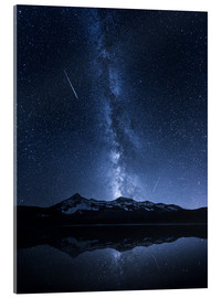 Acrylic print  Galaxies Reflection - Toby Harriman