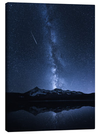 Canvas print  Galaxies Reflection - Toby Harriman