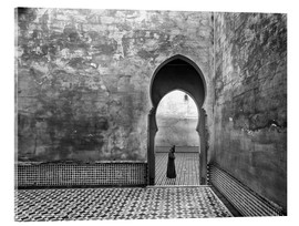 Acrylic print  Old World - Ali Khataw