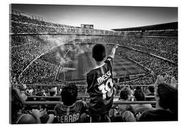 Acrylic print  Temple of football - Clemens Geiger