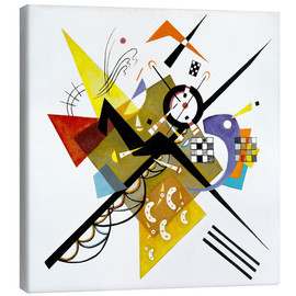 Canvas print  On White II - Wassily Kandinsky