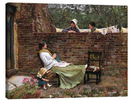 Canvas print  Chat - John William Waterhouse