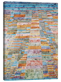 Canvas print  Main path and byways - Paul Klee