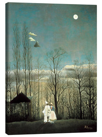 Canvas print  A carnival evening - Henri Rousseau