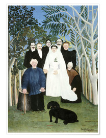 Premium poster A wedding in the countryside