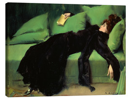 Canvas print  After the ball - Ramon Casas i Carbo