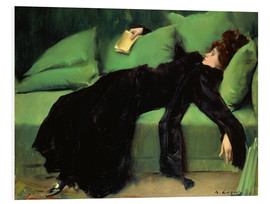 Foam board print  After the ball - Ramon Casas i Carbo