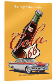 Acrylic print  Cola 66 Advertising - Georg Huber
