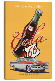Canvas print  Cola 66 Advertising - Georg Huber