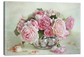 Canvas print  Roses bouquet - Lizzy Pe