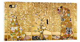 Acrylic print  The Tree of Life (Complete) - Gustav Klimt