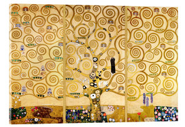 Acrylic print  The tree of life - Gustav Klimt