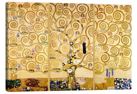 Canvas print  The tree of life - Gustav Klimt