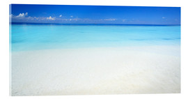 Acrylic print  Beach, sea and sky - Matteo Colombo