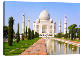 Canvas print  The Taj Mahal - Gavin Hellier