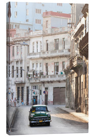Canvas print  Taxi driving in Havana - Lee Frost