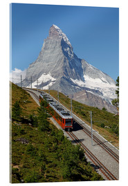 Acrylic print  Excursion to the Matterhorn - Hans-Peter Merten