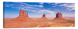 Canvas print  Monument Valley Navajo - Neale Clarke
