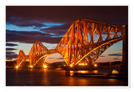 Premium poster  Forth Rail Bridge, South Queensferry - Neale Clarke