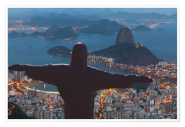 Premium poster  Christ the Redeemer, Corcovado - Angelo Cavalli
